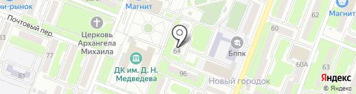 DK studio на карте Брянска