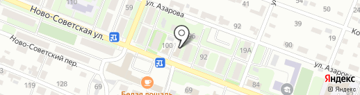 Бристоль на карте Брянска