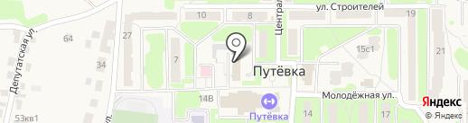 Отдел Военного комиссариата Брянской области по Брянскому району и г. Сельцо на карте Путевки