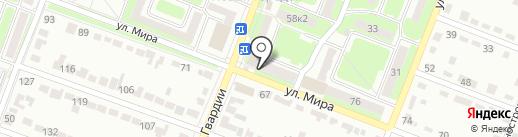 Магазин разливного пива на карте Брянска