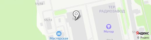 РИТКАМ на карте Петрозаводска