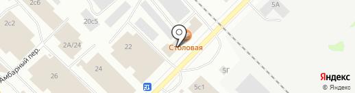 ТВК-Сервис на карте Петрозаводска