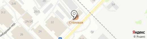 Белшина на карте Петрозаводска