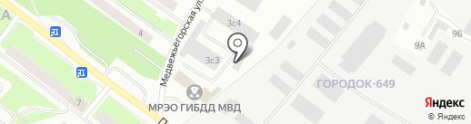 JARVI на карте Петрозаводска