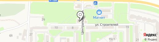 Продуктовый магазин Денисенко М.С. на карте Путевки