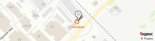 Психологический кабинет на карте Петрозаводска