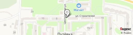 Радуга на карте Путевки