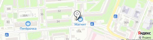 Государственный архив Брянской области на карте Брянска