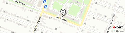 Егриси на карте Брянска