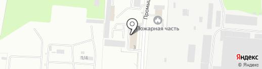 Строитель-Сервис на карте Брянска