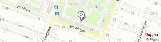 Почтовое отделение №30 на карте Брянска