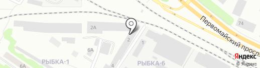 Магазин автозапчастей на карте Петрозаводска