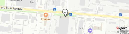NANO Security на карте Брянска