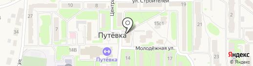 Акварель на карте Путевки