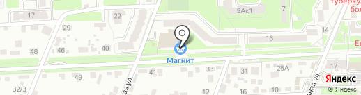 Латерал на карте Брянска