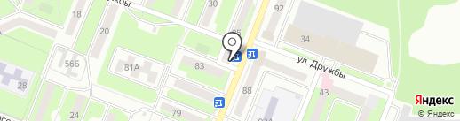 АЗОНПУЛЬС на карте Брянска