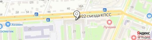 Кибер Ленд на карте Брянска