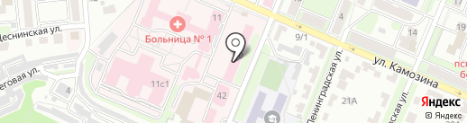АМС-Клиник Брянск на карте Брянска