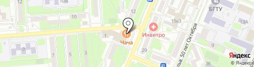 1xBet на карте Брянска