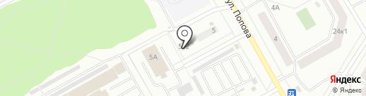Специализированный магазин на карте Петрозаводска