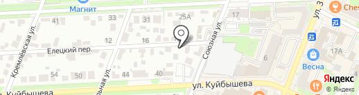 БПЕ на карте Брянска