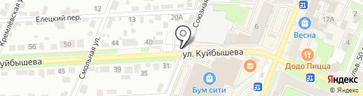 Любимый магазинчик на карте Брянска