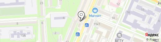 Эвакуатор Брянск на карте Брянска