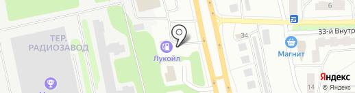 АЗС на карте Петрозаводска