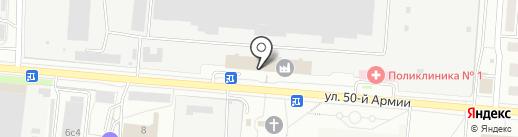 Банкомат, Банк ВТБ 24, ПАО на карте Брянска