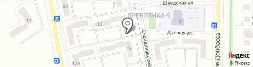 Магазин строительного крепежа на карте Петрозаводска