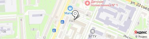 АВТОСУШИ на карте Брянска