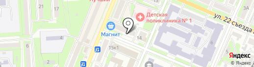 Fix Price на карте Брянска