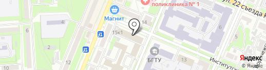 Толмач24 на карте Брянска