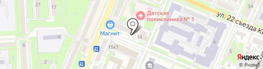 Яки Паки на карте Брянска