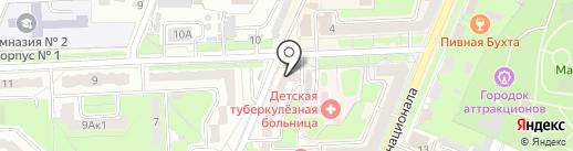 Модный базар на карте Брянска