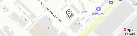 Scooter на карте Петрозаводска