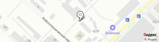 ТК Карелия-Гранит на карте Петрозаводска