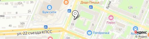Юлмарт на карте Брянска