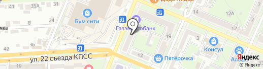 Viva деньги на карте Брянска