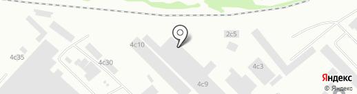 Малахит на карте Петрозаводска