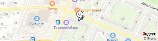 Брянская городская детская стоматологическая поликлиника №1 на карте Брянска