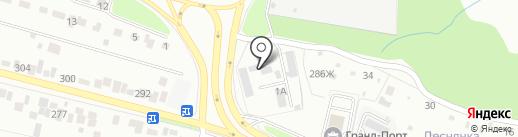 Таврос ГК на карте Брянска