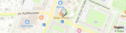Почта Банк, ПАО на карте Брянска