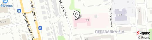 Республиканский психоневрологический диспансер на карте Петрозаводска