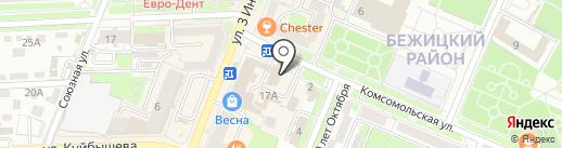 Брянская торгово-промышленная палата на карте Брянска