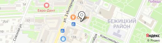 Юридический кабинет на карте Брянска
