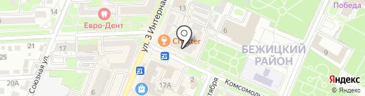 Брянская городская служба недвижимости на карте Брянска