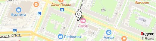 TIME CAFE на карте Брянска