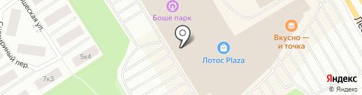 Орматек на карте Петрозаводска