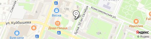 Комплексный центр социального обслуживания населения Бежицкого района на карте Брянска